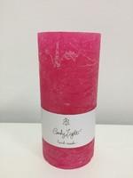 Свеча цилиндрическая 15см, пурпурный