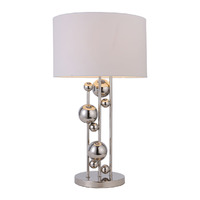 Лампа настольная с декором