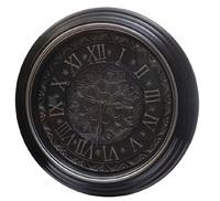 Часы черные 50,5х50,5х5,8
