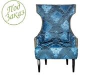 Кресло синее