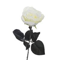 Роза белая 48 см