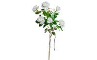 Роза белая 71см