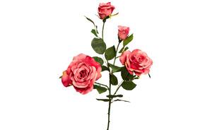 Купить Роза нежно-розовая,80см
