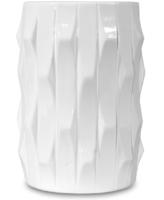 Ваза белая, высота 20 см