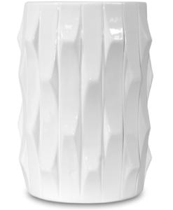 Купить Ваза белая, высота 20 см