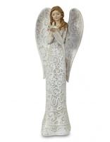 """Статуэтка """"Молящийся ангел с птичкой"""""""