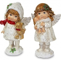 "Статуэтки ""Ангелочки с игрушками"""