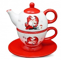 "комплект для чая ""Санта Клаус"""