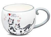 "Чашка ""Я люблю котов"""