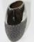 Ваза  керамическая, хром высота 29 см