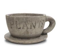 Чашка декоративная Plants