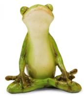 Фигурка жабка-йога