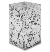 """Свеча """"Серебрянный куб"""" Н14 см"""
