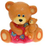 """Копилка """"Медведица с малышом"""""""