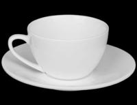 Чашка с блюдцем для капучино 180 мл