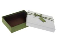 Коробка прямоугольник (22*17*6,5 см), крышка белая