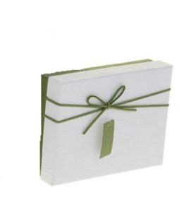 Купить Коробка прямоугольник (24*19*8 см), крышка белая