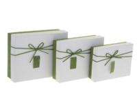 Коробка прямоугольник (19*14,5*5 см), крышка белая