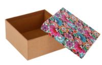 """Коробка """"Цветы"""" 21*21*11,5"""