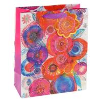 """Пакет подарочный """"Разноцветие"""" люкс"""
