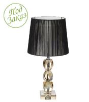 Лампа из янтарного хрусталя 50х26см