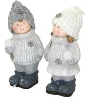 """Статуэтка """"Веселые дети со снежком"""""""