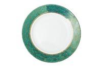 Тарелка десертная 19см,цвет бирюзовый