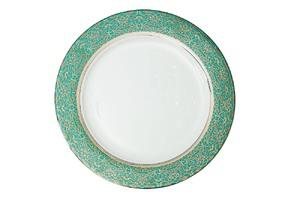 Купить Тарелка обеденная 27 см,цвет бирюзовый
