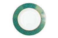 Тарелка суповая 20см,цвет бирюзовый