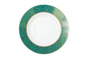 Купить Тарелка суповая 20см,цвет бирюзовый