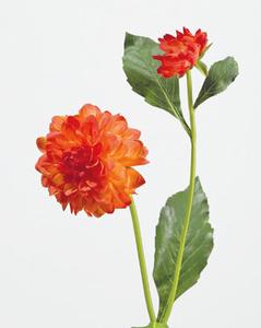Купить Георгин оранжевый в-48 см, д-8 см 1цв 1бут 12/144, У
