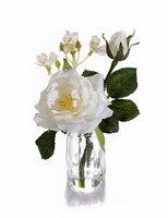 Композиция-мини Белая садовая Роза
