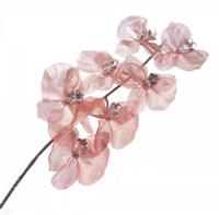 Цветок искусственный Фаленопсис, розовый, У