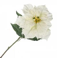 Цветок искусственный Пуансетия, 100см