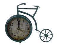 Часы велосипед зеленые