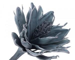 Купить Цветок искусственный 110см, голубой лед