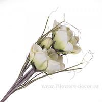 Цветок искусственный 85см, салатовый