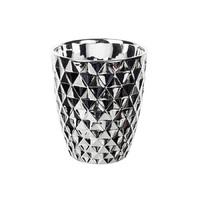 Кашпо для орхидеи, зеркальное серебро
