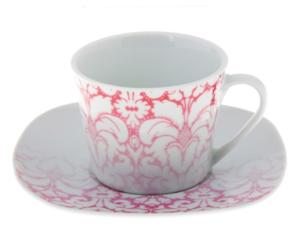 """Купить Набор чайный """"Бурлеск"""", 2 предмета: чашка 220 мл, блюдце"""