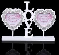"""Фоторамка дерево """"Светлые моменты Love"""""""