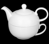 Набор чайный  2 предмета: чайник и чашка