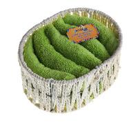 """Набор полотенец в корзинке """"Collorista"""" Green, 5 шт"""