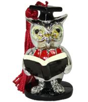 Фигурка сова с книгой