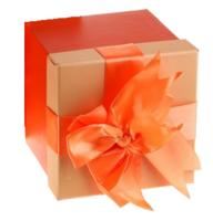 """Коробка """"Важный день"""" 16,5*16,5*16,5"""