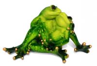 Фигурка целующиеся жабки