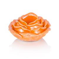 Подсвечник Lemark,оранжевый с перламутром