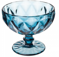 Ваза (стекло), цвет синий