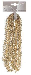 Купить Гирлянда из бусин, Золото, 270см