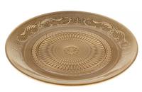 Блюдо золото (стекло), D23см