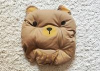 Подушка Little Cute Brown (Коричневый)